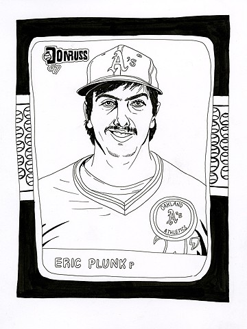 Eric Plunk (Donruss 1987)