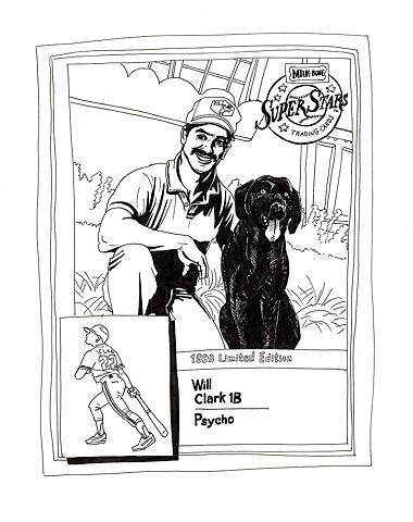 Will Clark, Psycho (Nabisco 1993)
