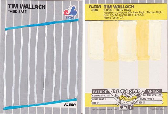 '89 Fleer Tim Wallach