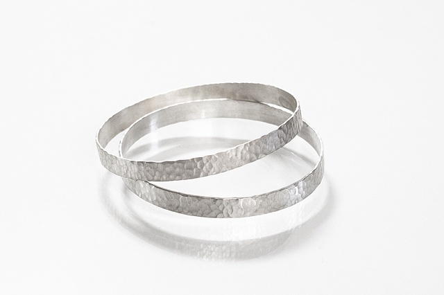 Small Hammered Bangles