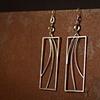Wire Wave Earrings