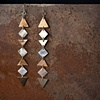 Multi-arrow Earrings From the Arrow Collection