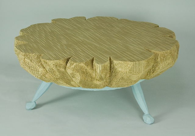 EXQUISITE CARDBOARD TABLE (spinning table)