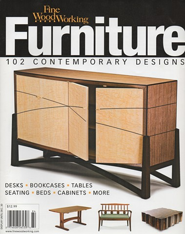 FINE WOODWORKING, FURNITURE: 102 CONTEMPORARY DESIGNS