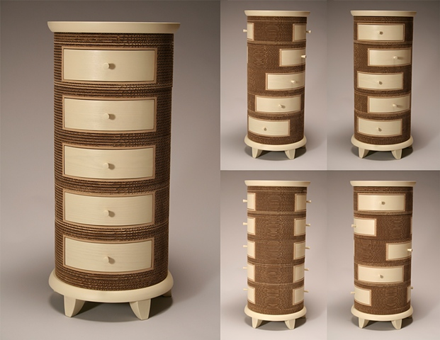 Creating Finely Crafted Furniture And Sculpture With Corrugated Cardboard,  And Sometimes Wood And Metal, Is An Exciting Challenge That Results In An  Elegant ...