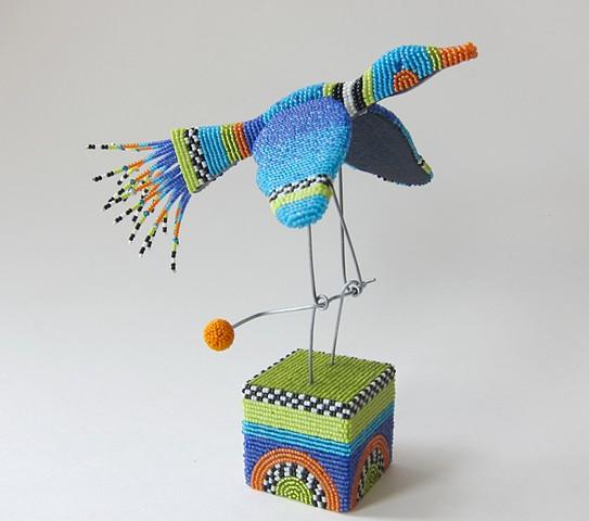 """""""Beaded Bird Automata"""""""