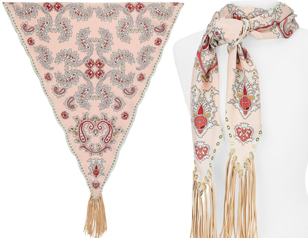 Paisley Diamond Pink