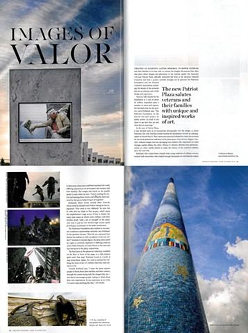 "Sarasota Magazine  ""Images of Valor""  by Kay Kipling"