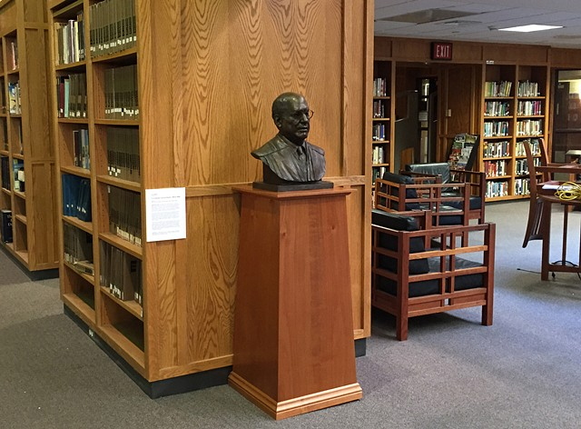 Portrait Bust of U.S. District Judge Mark L. Wolf Boston Latin School
