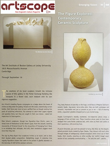"ArtScope ""The Figure Explored: Contemporary Ceramic Sculpture"""