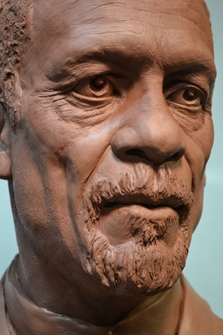 The Bill Russell Legacy Project Artwork for City Hall Plaza Boston Early Portrait Study