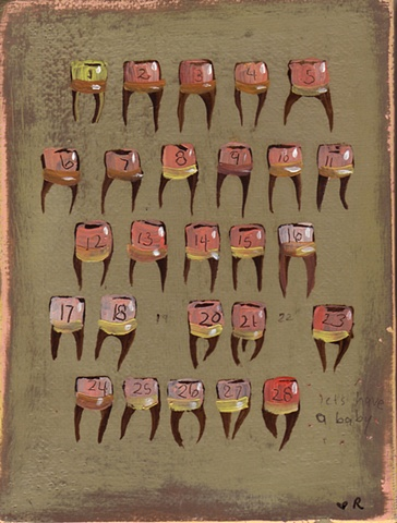Tooth painting  24