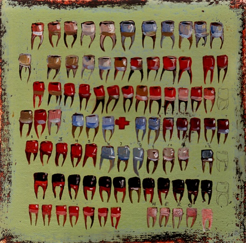 Tooth painting  28