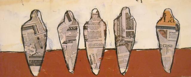 Five News Pigeons