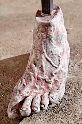 Feet of Clay (detail 2)