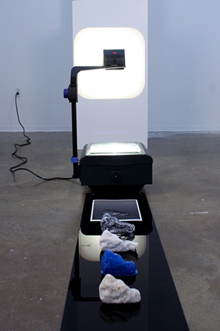 repetition / degradation (installation view)