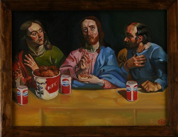 Jesus and Chicken