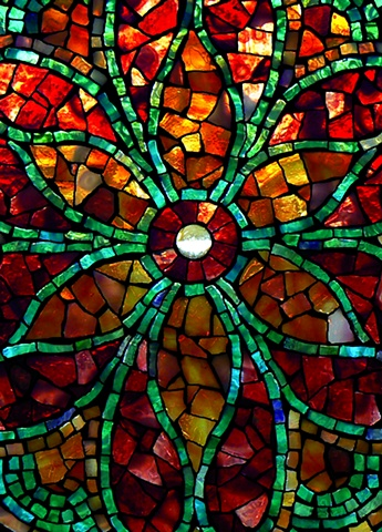 Fine Art Greeting Card from David Chigey - Art Glass Mosaics
