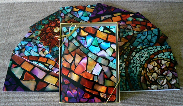 Art Glass Mosaics Fine Art Greeting Cards