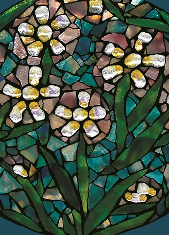 Fine Art Greeting Card from David Chidgey - Art Glass Mosaics