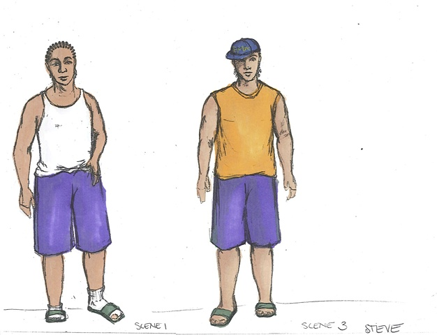 Steve Scene 1 and 3
