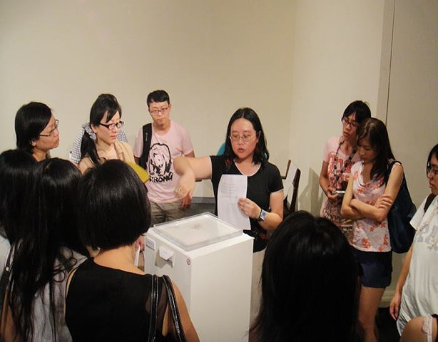 Chapter Zero: Speaking at Exhibit at National Taipei University of Education