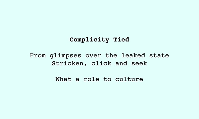 Complicity Tied