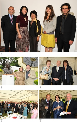 Midsummer Garden Exhibition, Swords, Ireland: photo with Ambassador Savoia