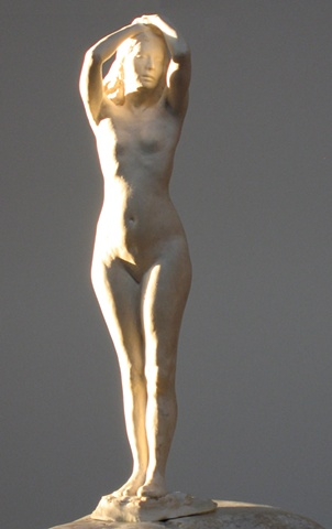 female nude sculpture figure