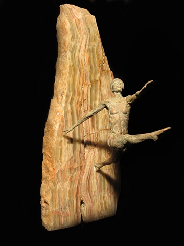 female dancer wall mount onyx