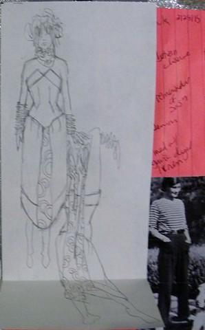 Fashion Design Sketchbook 28