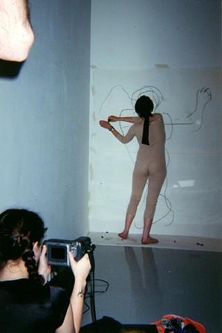 Blind Man's Self-Portrait  View 3