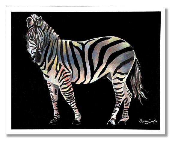 Rainbow Zebra Two