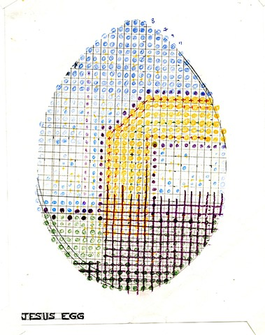 Study for Jesus Egg 1