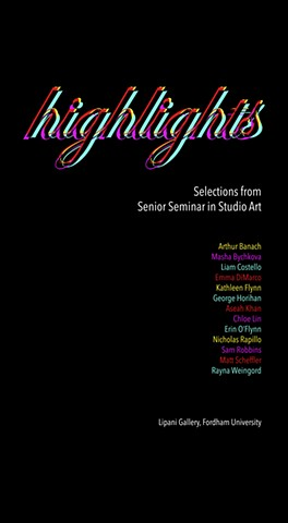 Highlights: Selections from Senior Seminar in Studio Art