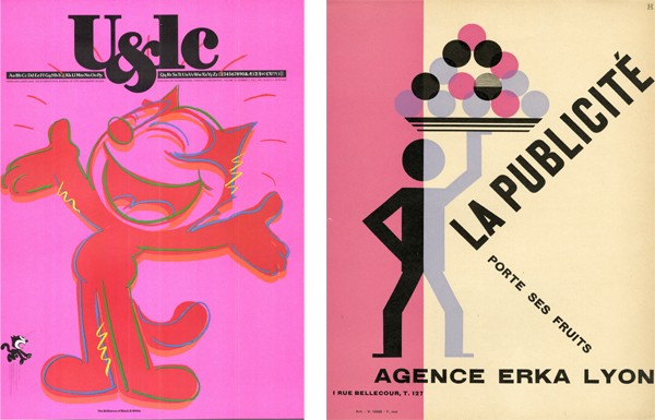 Selections from the Fordham University Charles Francis | Graphic Design Archives
