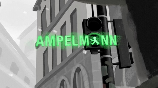 Tim Luecke Ampelmann: An Animated Short