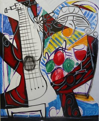 Menelaw Sete Modern contemporary  Brazilian Art