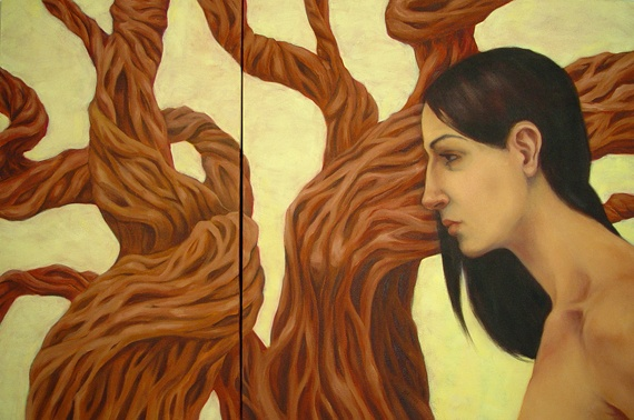 A Latent Knowledge (diptych)
