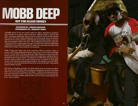 Mobb Deep Ruckus Magazine