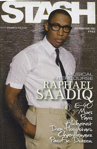 Raphael Saadiq STASH Magazine Cover