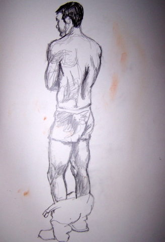 Model Standing I