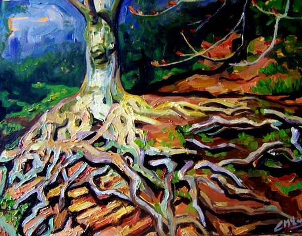 Malven tree
