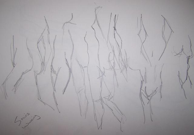 Nude Walking II