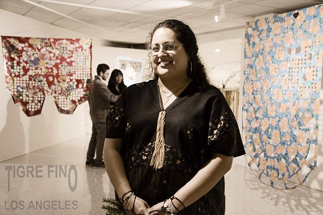 artist Margaret Quica Alarcon