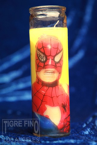 spidey candle