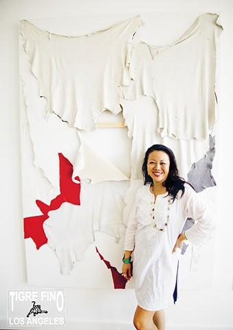 artist Angel Chen
