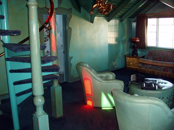 Madonna Inn, San Luis Obisbo, Just Heaven room