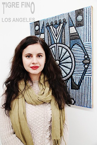 artist Helen Rebekah Garber