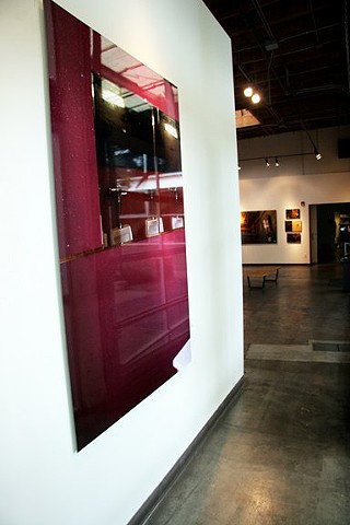 Installation view of Le Barcito in Open/Closed show